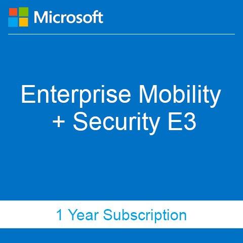 Buy Enterprise Mobility + Security E3