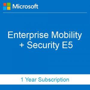 Buy Enterprise Mobility + Security E5