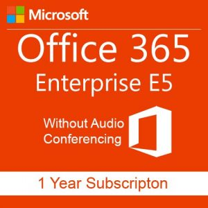 buy office 365 enterprise e5 without audio conferencing