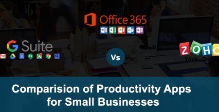 gsuite vs office365 vs zoho